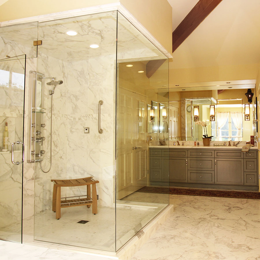 Custom bathroom remodeling contractors santa cruz for The bathroom builders