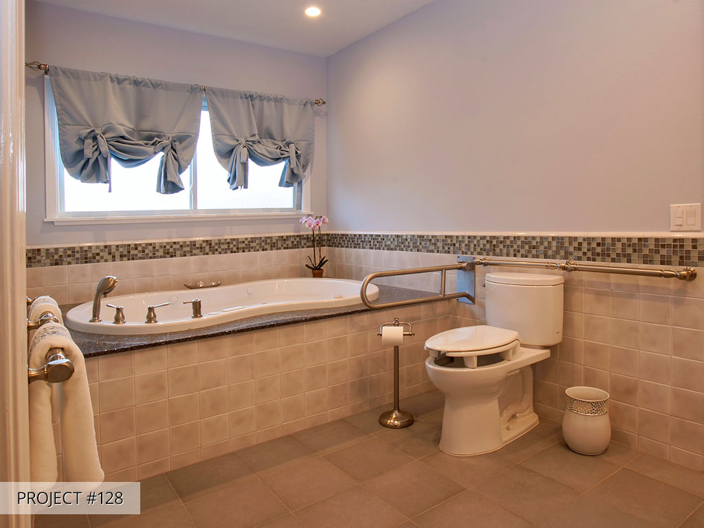 Universal design aging in place talmadge construction for Universal bathroom design