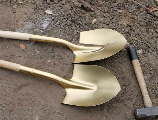 Passive House Groundbreaking