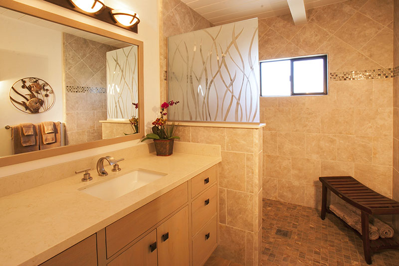 Universal Design Bathroom After