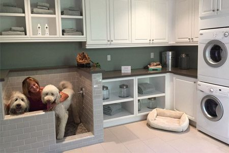 pet friendly remodel mudroom