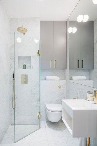Small Bathroom & Powder Room Remodel Ideas
