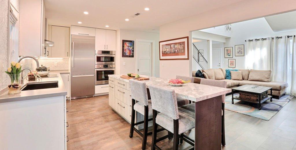 Contemporary Condo Kitchen Remodel