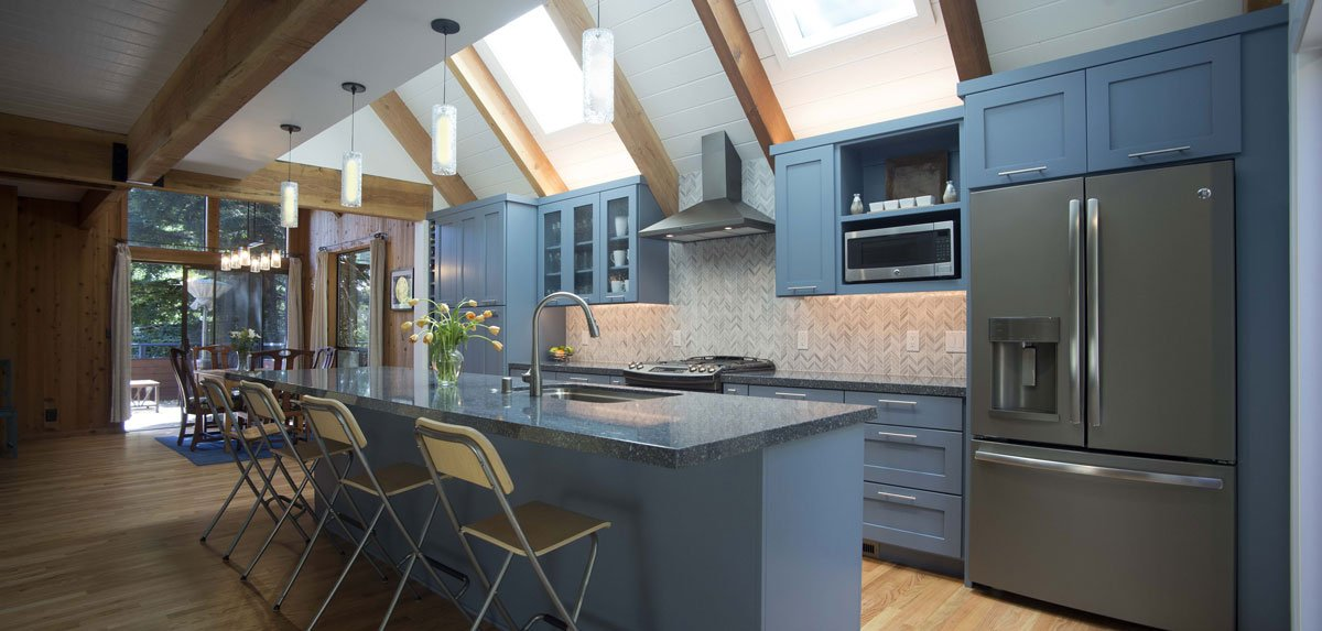 Aptos Hidden Beach Multi-Family Vacation Home Kitchen Remodel